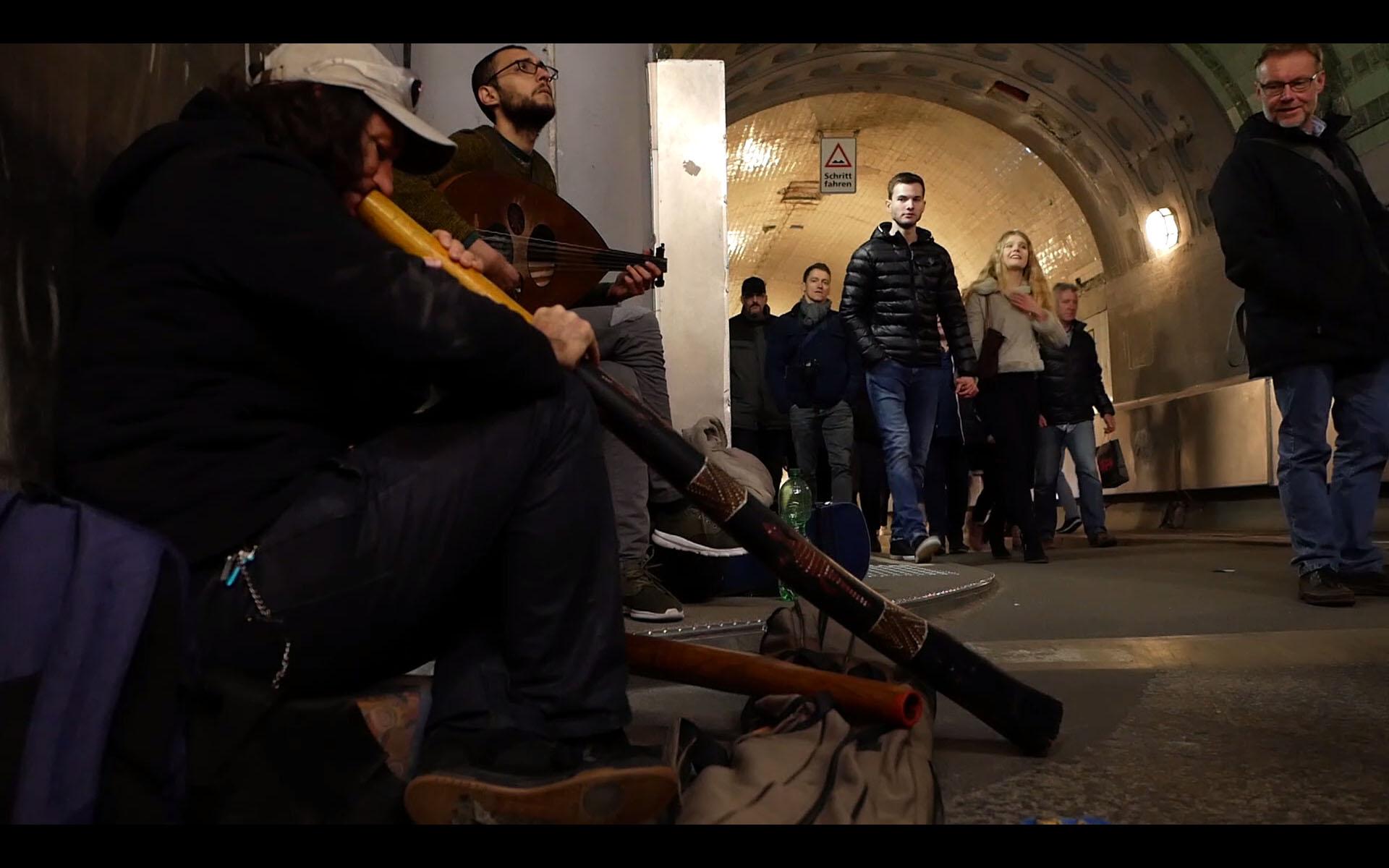 Der Mann der das Didgeridoo nach Kiel brachte