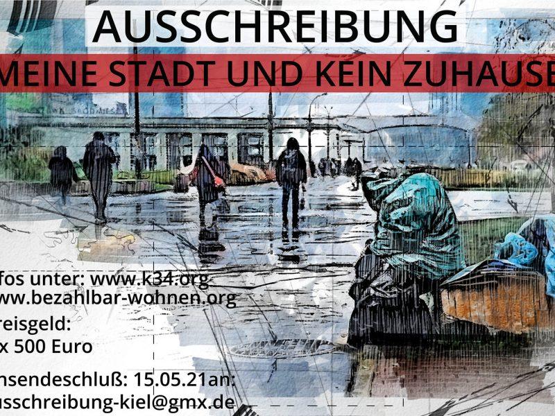 Ausschreibung zur Wohnungsnot in Kiel